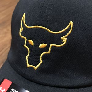 NWT Under Armour Project Rock Renegade UA Free Fit Brahma Bull Hat for Sale  in Newport Beach c212ec65032a
