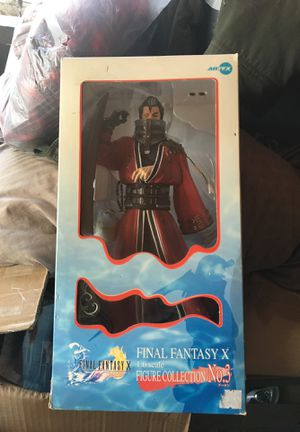 Final fantasy x action figure for Sale in Kensington, MD