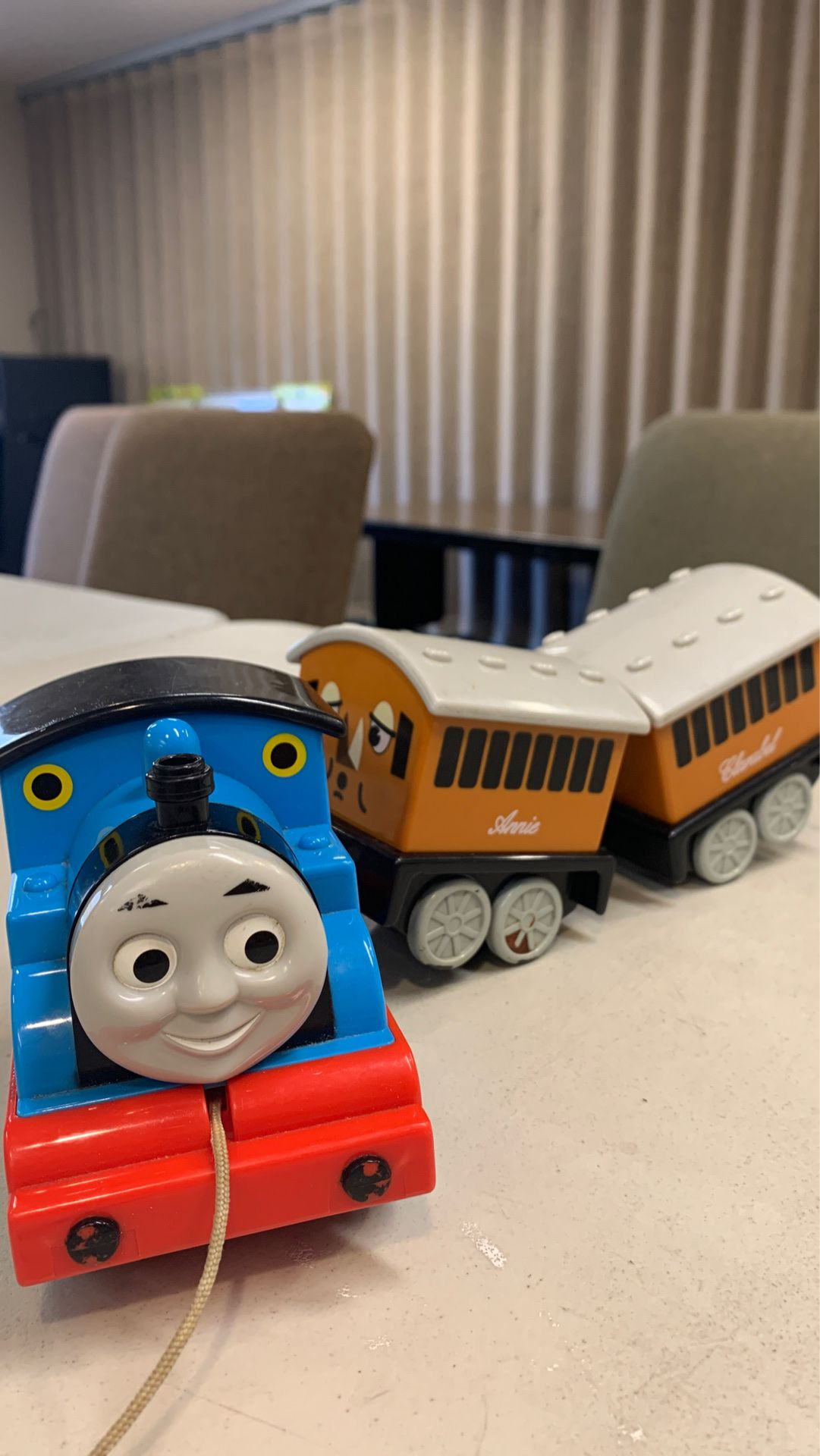 Thomas the Train pull toy