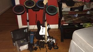 Ps3,Playstation 3,Everything on the picture, rockband game for Sale in Jersey City, NJ