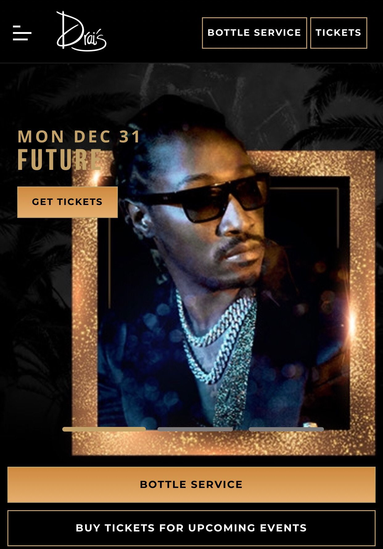 Future New Years !!! Male TICKET