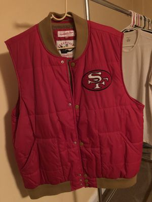 Mitchell & Ness Throwback vest for Sale in Silver Spring, MD