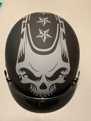 Half shell motorcycle helmet for Sale in Fort Belvoir, VA