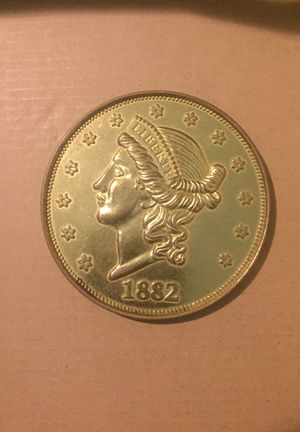 20 dollar coin from 1882 for Sale in Raleigh, NC