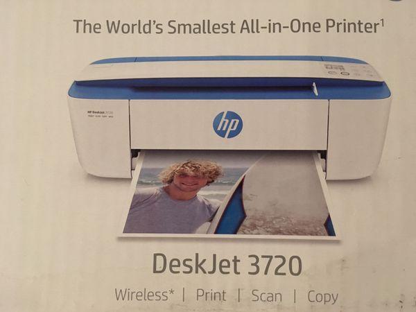 HP Deskjet 3720 Printer & Scanner for Sale in Philadelphia, PA - OfferUp