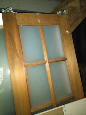 Pocket Doors w/Frosted Windows ($250) for Sale in Dallas, TX