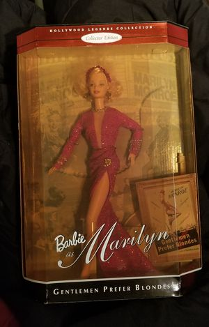 Marilyn Monroe Barbie for Sale in Bethesda, MD