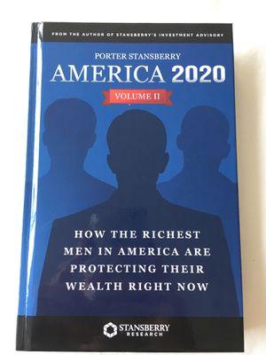 America 2020 vol. 2 - Porter Stansberry for Sale in Baltimore, MD