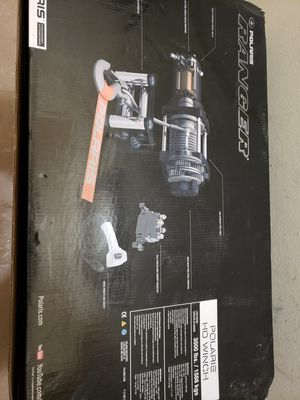 Polaris 3400 lb winch new for Sale in Glen Burnie, MD