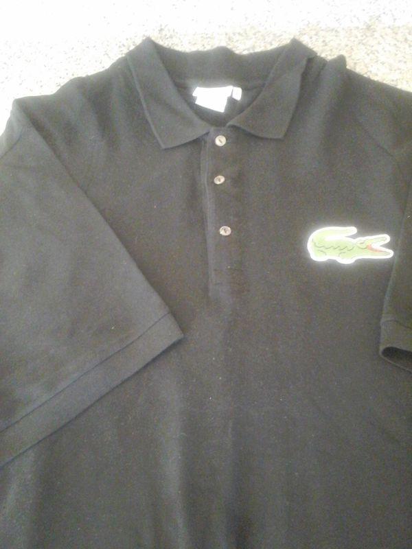 4de6f0253ef2 Brand New Designer Authentic LACOSTE 4XL  11R Short Sleeve Shirt ...