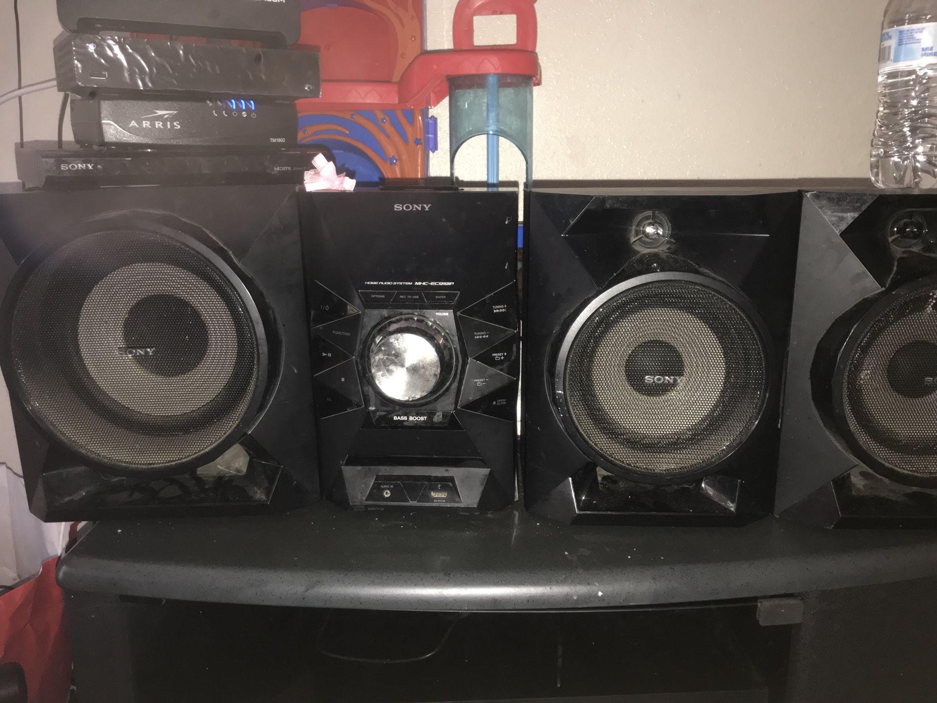 sony house stereo