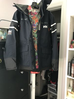 Helly Hansen jacket and jays(Carmine's not for sale) for Sale in Silver Spring, MD