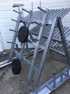 Ultimate Gym Weight Rack for Sale in Silver Spring, MD