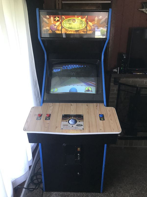 World Class Bowling Arcade Game Manual Collectibles