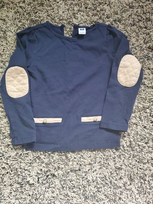 Photo Toddler girls Janie and Jack navy blue Top size 4t, very good condition located in Yorba linda