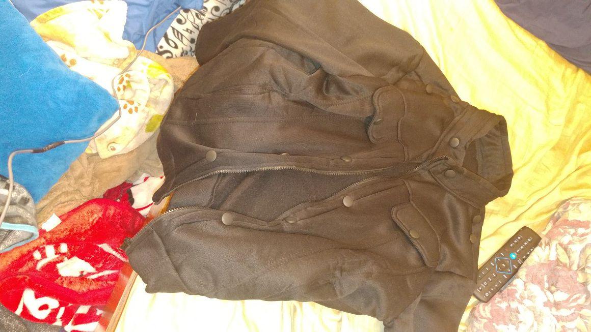 Black jacket never used