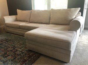 NEW cream colored sectional for Sale in Columbia, MD