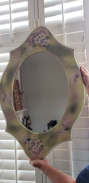 "Hand-painted/ Decoupage Mirror 32""x24"" for Sale in Rockville, MD"