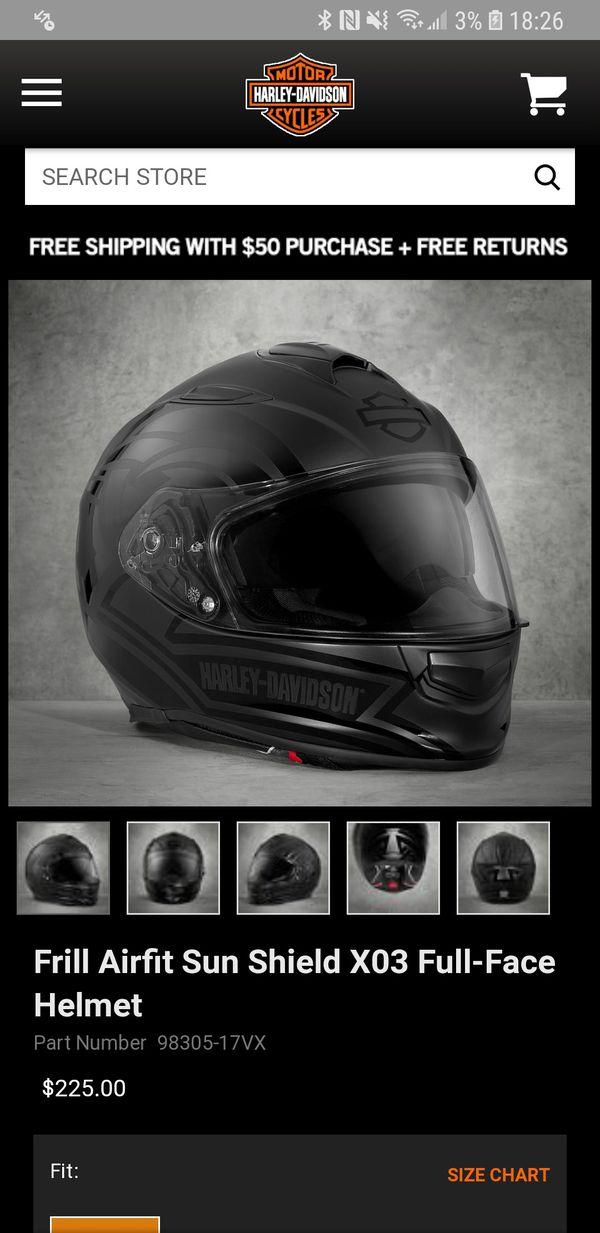 6b49d95d7 Frill Airfit Sun Shield X03 Full Face Helmet for Sale in Fayetteville, NC -  OfferUp