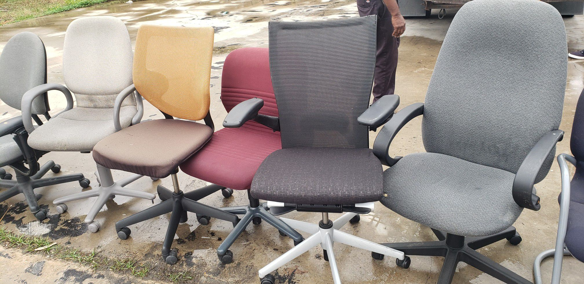 OFFICE CHAIRS FOR SALE!!!!...EACH
