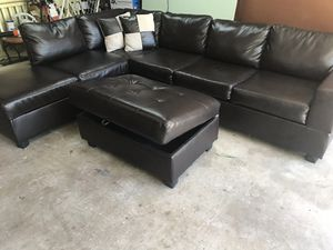 New and Used Leather sofas for Sale in Euless, TX - OfferUp