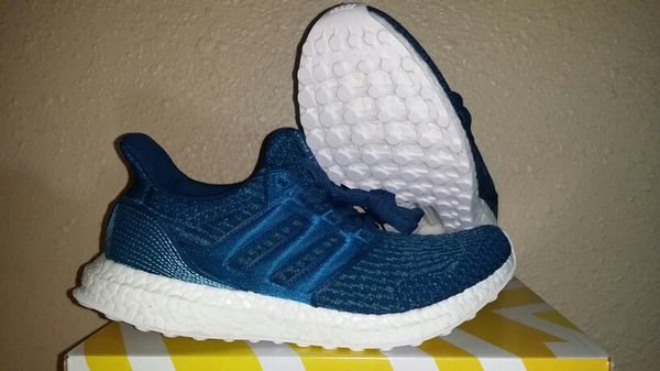 purchase cheap 7bc03 9558e Adidas Ultra Boost 3.0 Parley Night Navy for Sale in Sacramento, CA -  OfferUp