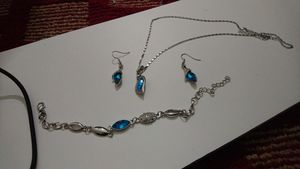Necklace set with bracelets for Sale in Bailey's Crossroads, VA