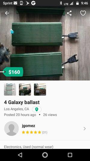 4 Galaxy ballast for Sale in Los Angeles, CA