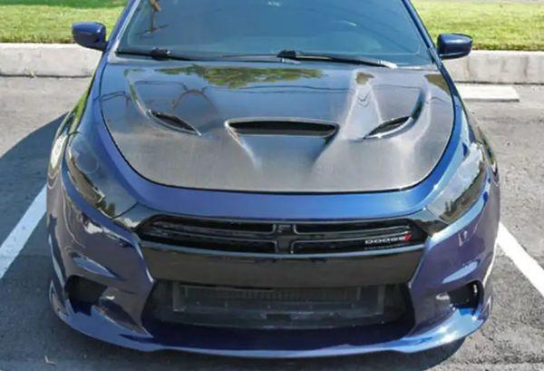 Dodge Dart 2017 Hellcat Front Per