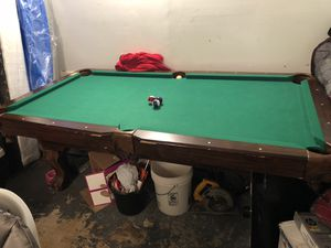 Pool table for Sale in Fort Washington, MD