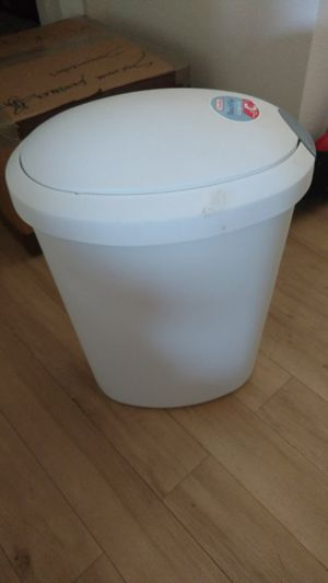 White trash can. for Sale in McLean, VA