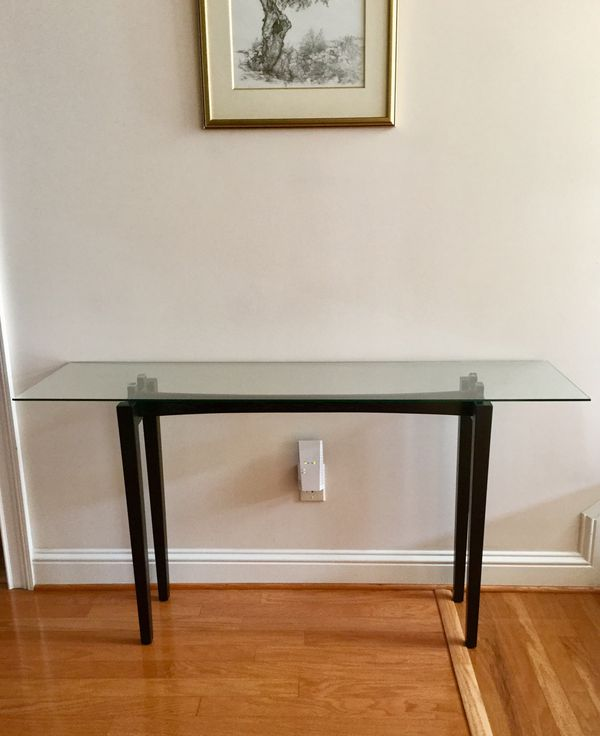 Elegant Brand New Handcrafted Mcm Style Entry Way Sofa Table Plz Read Description A For In Alpharetta Ga Offerup