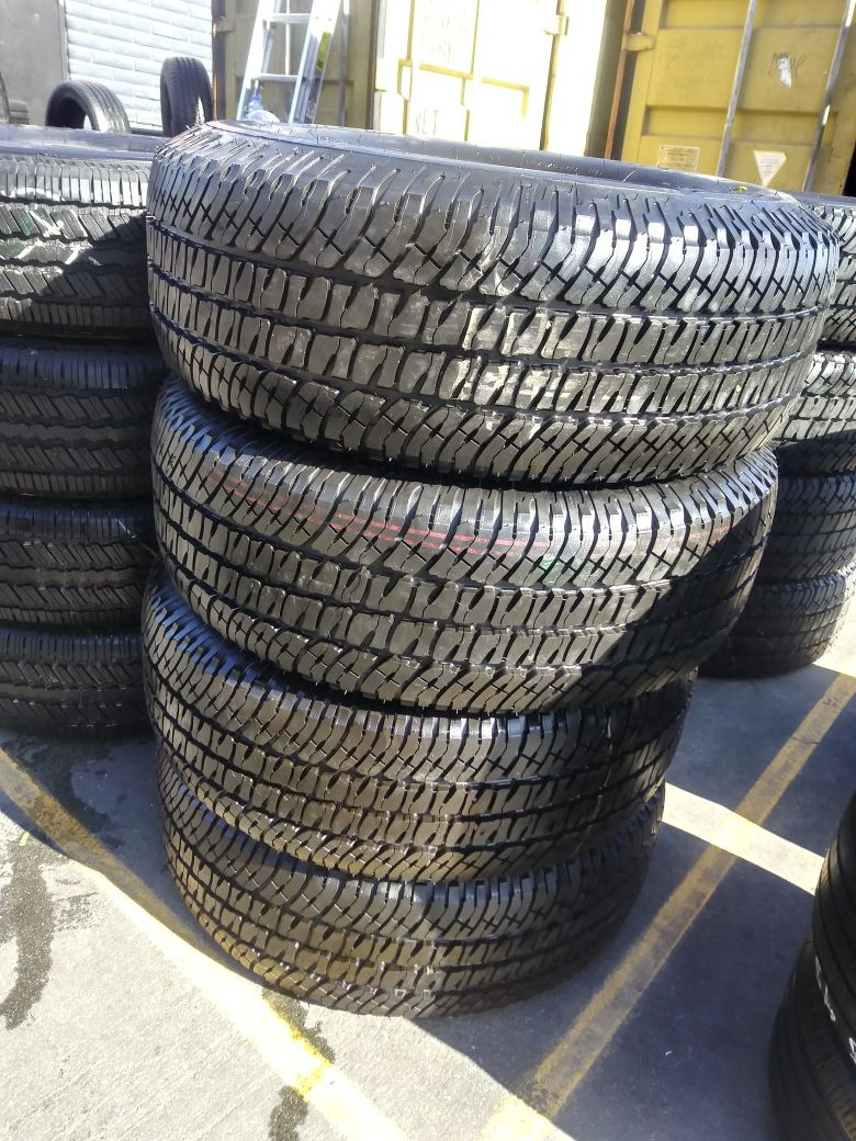 P275 /65 /18 Michelin LTX A /T 2 $380.00 CASH