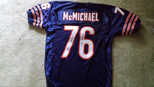 765fccb2732 Chicago Bears autographed Steve McMichael jersey number 76 (Collectibles)  in Inverness, IL - OfferUp