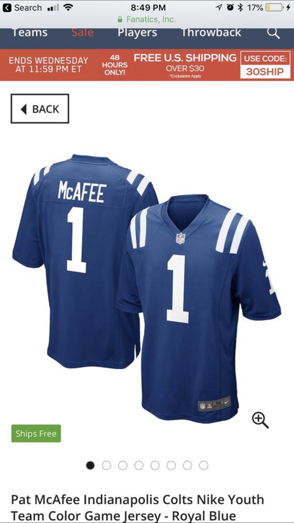 detailed look 1ceac 4f4a1 Colts jersey for Sale in Indianapolis, IN - OfferUp