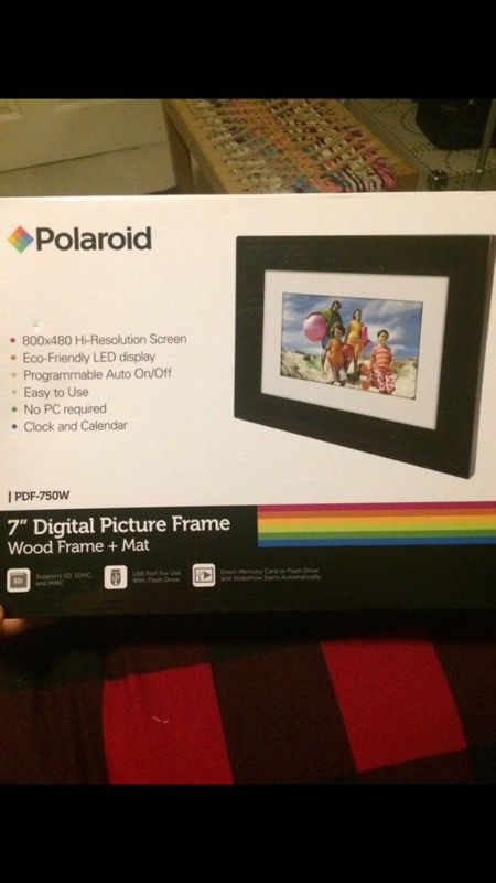 Polaroid 7 Digital Picture Frame For Sale In Escondido Ca Offerup