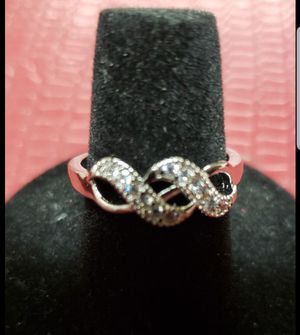 Sterling silver ring size 7 for Sale in Farmville, VA