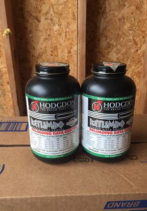 "Hodgdon ""Retumbo"" powder for Sale in Eatonville, WA - OfferUp"