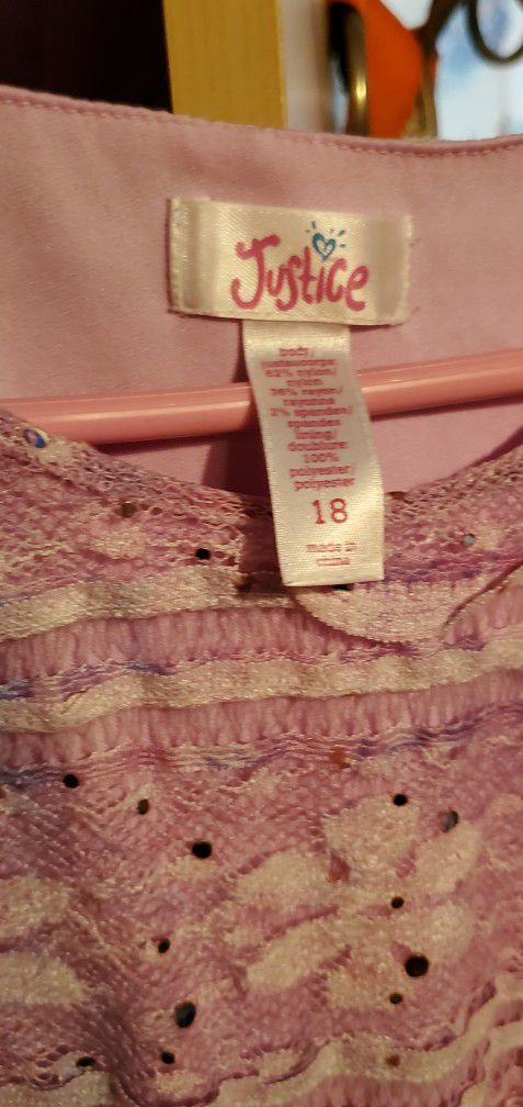 Girl Dresses Size 18