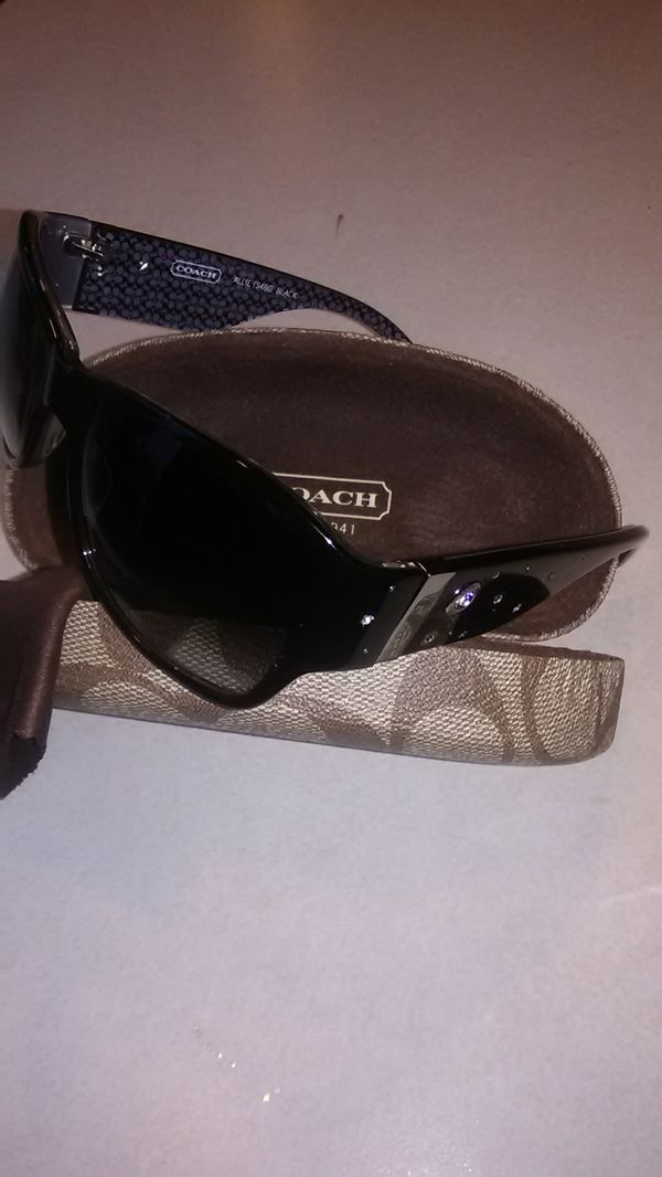 95313b97dc ... low price coach womens sunglasses allie s460 black for sale in san jose  ca offerup 3e998