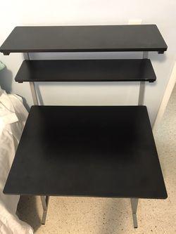 Black Student Desk Thumbnail
