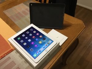 Like new iPad Air 2 64gb with original leather case for Sale in Manassas, VA