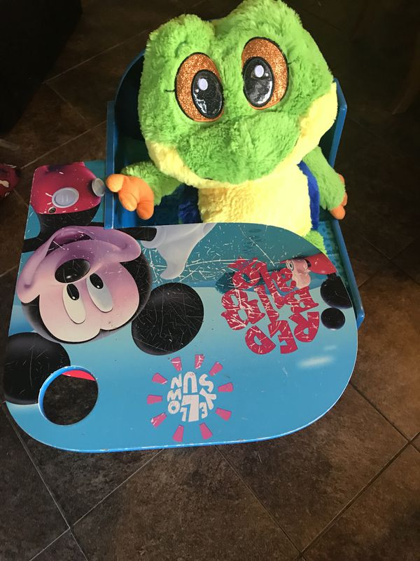 Mickey Mouse Toddlers Desk Chair With Storage Large Frog Stuft Animal For In Whittier Ca Offerup