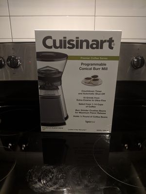 Cuisinart Programmable Conical Burr Grinder for Sale in Austin, TX