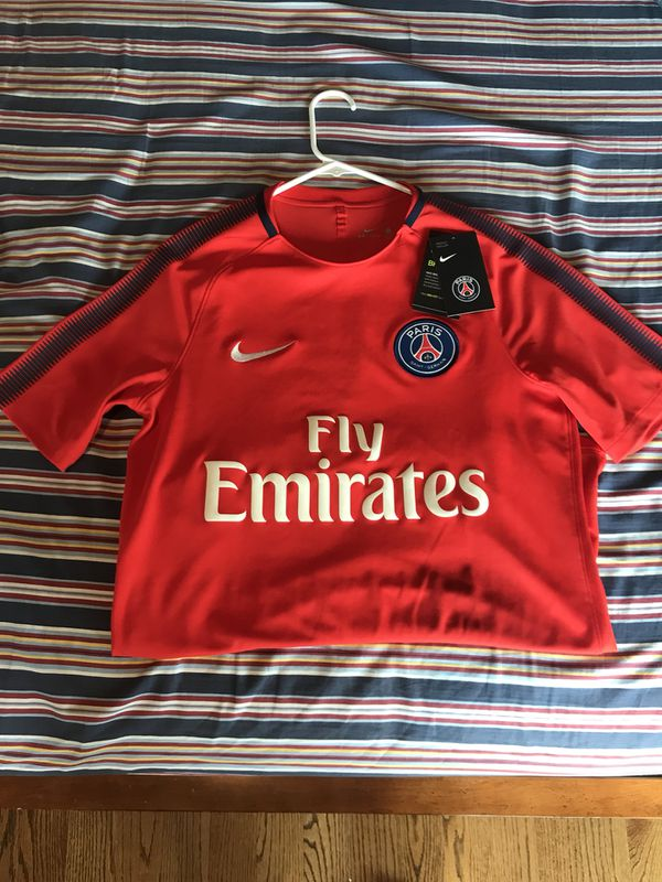 sports shoes f7da7 97c75 NIKE PSG MBAPPE SOCCER JERSEY SIZE MEDIUM France shirt for Sale in Maywood,  NJ - OfferUp