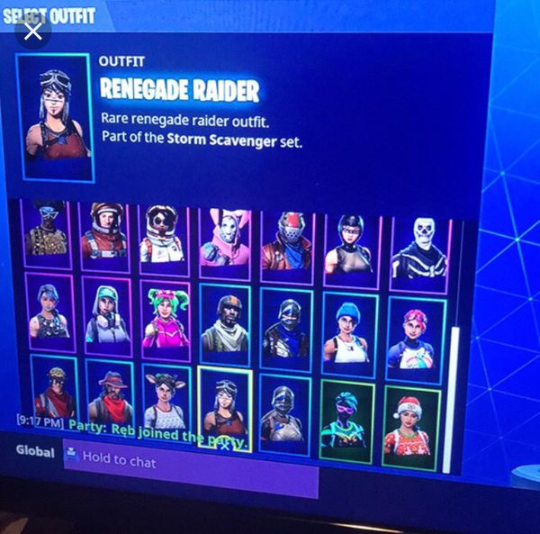 Rarest Fortnite Account with Skull Trooper And Renegade ...