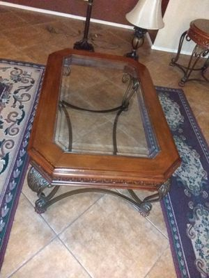 Tuscan Style Coffee And End Table For In Scottsdale Az
