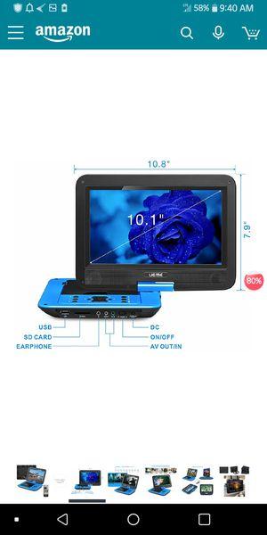 Blue Portable DVD 💿 Player for Sale in Stockton, CA