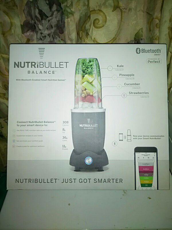 Brand new Nutribullet balance still in box for Sale in Wilmington, NC -  OfferUp