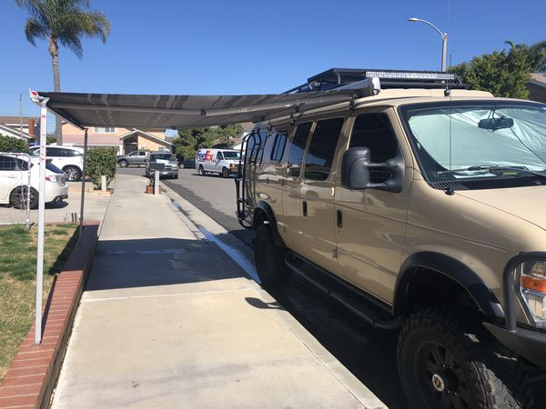 Fiamma F45s retractable 8.5 ft RV Van awning for Sale in ...